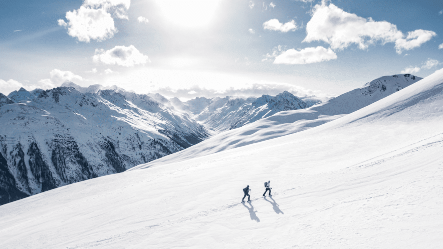 historia esqui travesia montaña