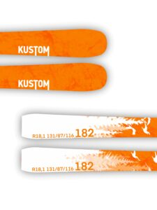 Kustom Skis esqui pista All-mountain nueva colección Challenge 01
