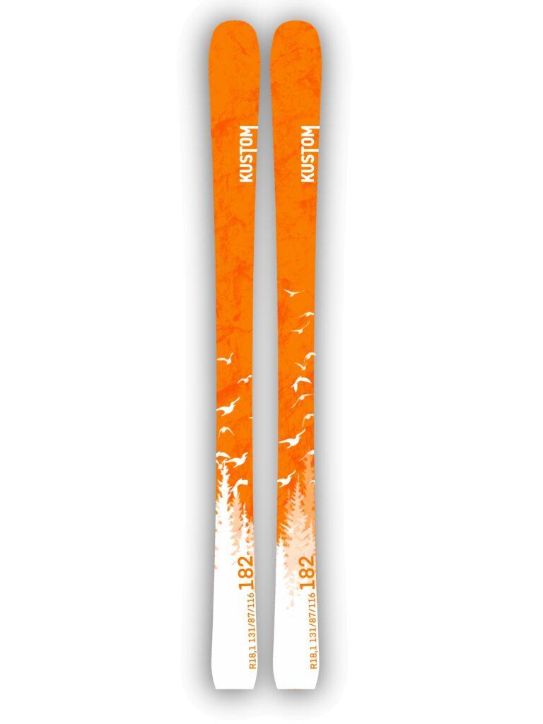 Kustom Skis esqui pista All-mountain nueva colección Challenge 02