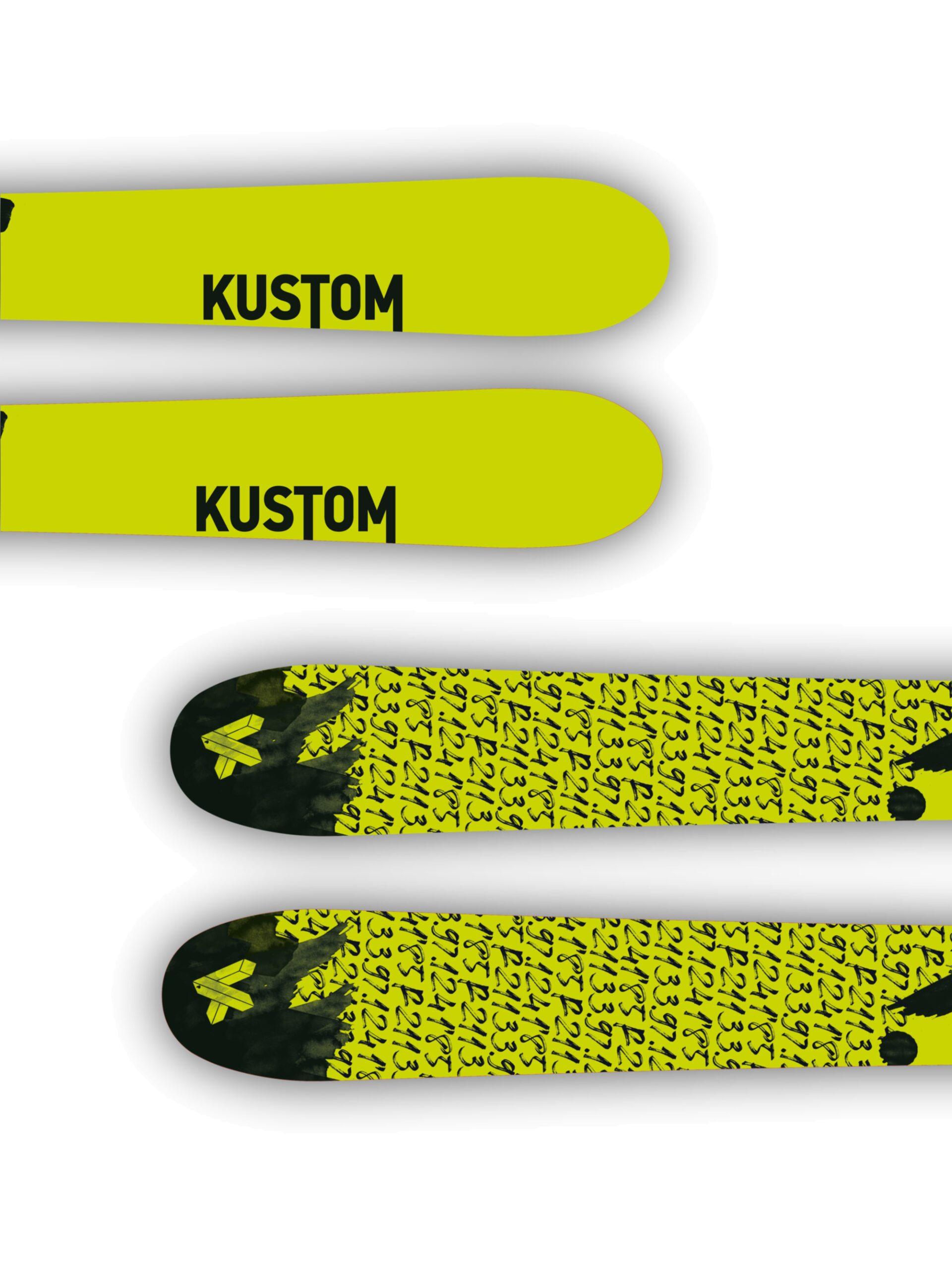 Kustom Skis esqui freestyle nueva colección KFR 01