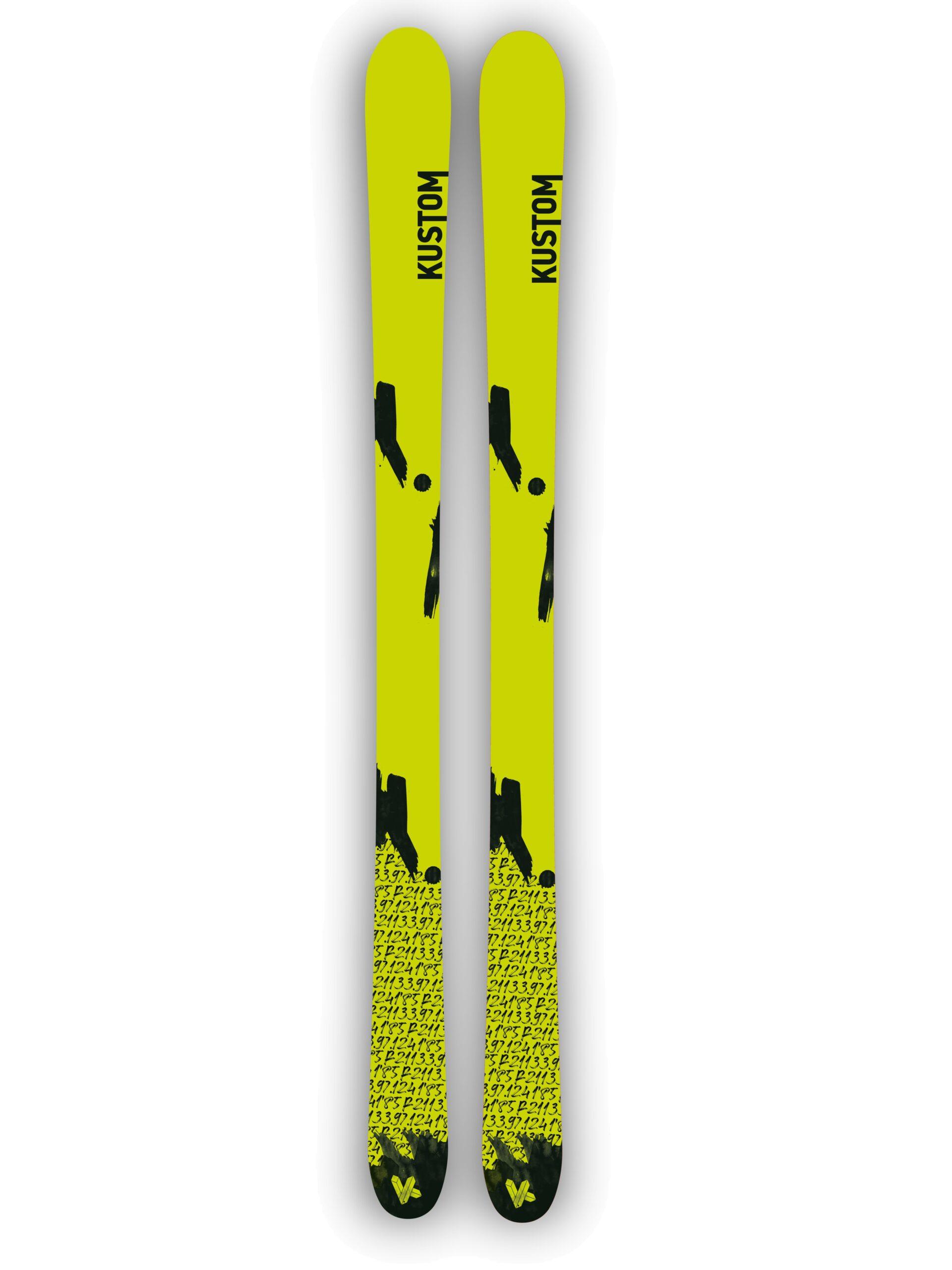 Kustom Skis esqui freestyle nueva colección KFR 02