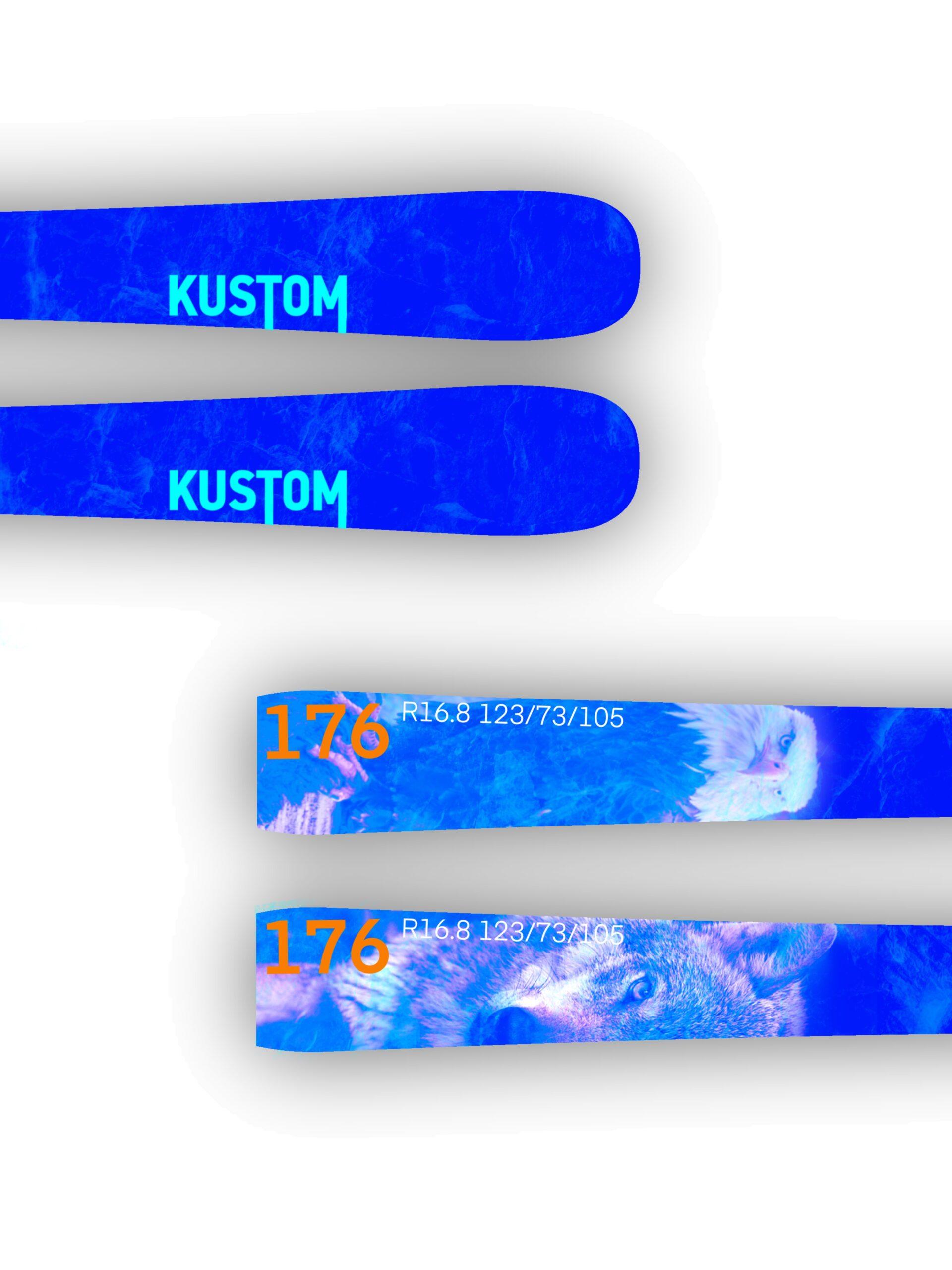 Kustom Skis esqui pista nueva colección Performance 01